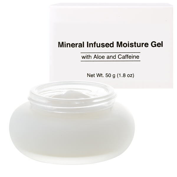 Anti-Aging Mineral Infused Gel Moisturizer with Aloe, Zinc, Caffeine and Iron from Natures Dermatology