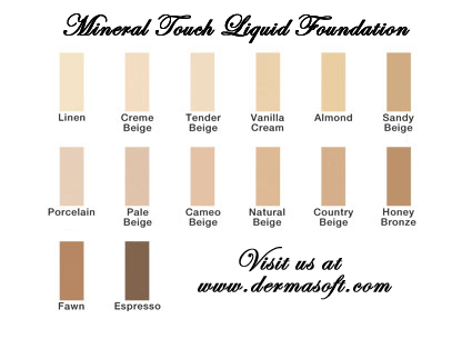 Mineral Touch Anti-Aging Foundation Makeup from Natural Luxury Beauty & Cosmetics
