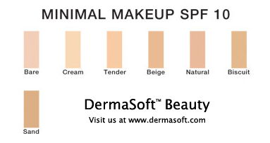 Oil Free Minimal Makeup with SPF 10