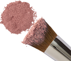 Morning Glory Rose Mineral Blush Powder from Natural Hypoallergenic Beauty & Cosmetics