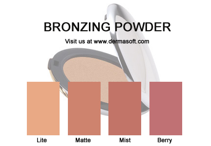 Pressed Mineral Bronzer from DermaSoft® Luxury Cosmetics
