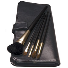 Professional Makeup Brush Kit with Preferred Brushes and Kabuki