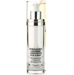 Skin Lightening Complex with Intensive Bleaching Creme for Fast Fading of Dark Marks, Freckles, Sun Spots and Age Spots - from Natural Dermatology