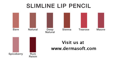 Slim Line Lip Pencils Formulated for Sensitive Lips