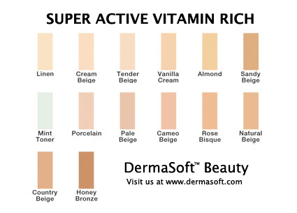 Super Active Vitamin Rich Makeup