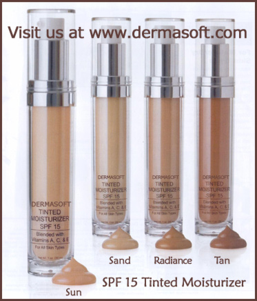 Liquid Sun Self Tan Lotion with Tinted Moisturizers & SPF 15 from Natural Luxury Beauty & Cosmetics