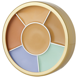 Total and Basic Face Corrector / Concealer Palette from Natural Dermatology Skin Beauty & Cosmetics