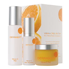 Vitamin C Facial Peel Anti-Aging Facial Treatment with Vibran C from DermaSoft™ Natures Dermatology