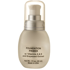 Vitamin  Face Primer Anti-Aging Liquid Foundation with Green Tea & White Tea Anti-Oxidants from Natural Skin Care & Beauty - Hypoallergenic, Fragrance Free, Dermatologist Recommended