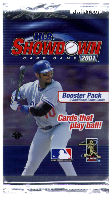 Inmintcom Mlb Showdown 2001 Booster Pack 9 Cards 1st Edition