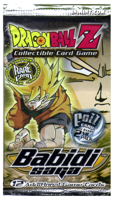 inMint.com - Dragon Ball Z: Babidi Saga Booster Pack (12 ...