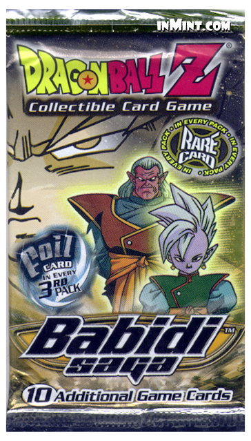 inMint.com - Dragon Ball Z: Babidi Saga Booster Pack (10 ...
