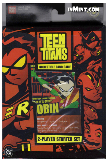 Teen Titans Trading Cards 42