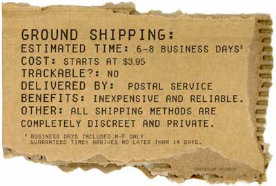Information About Ground Shipping