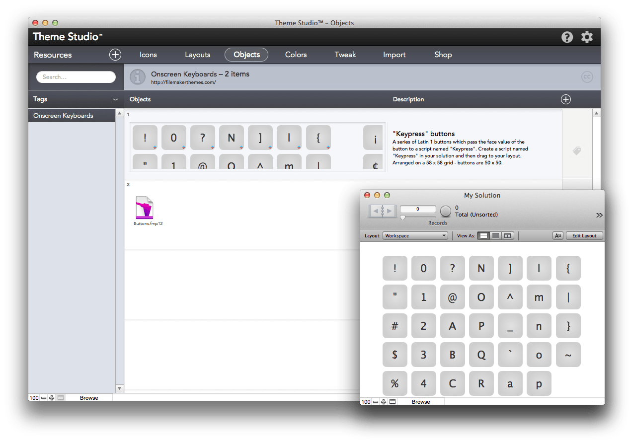 filemaker go templates - filemaker templates theme studio version 3