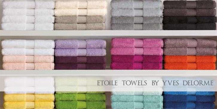 Yves Delorme Etoile Towels