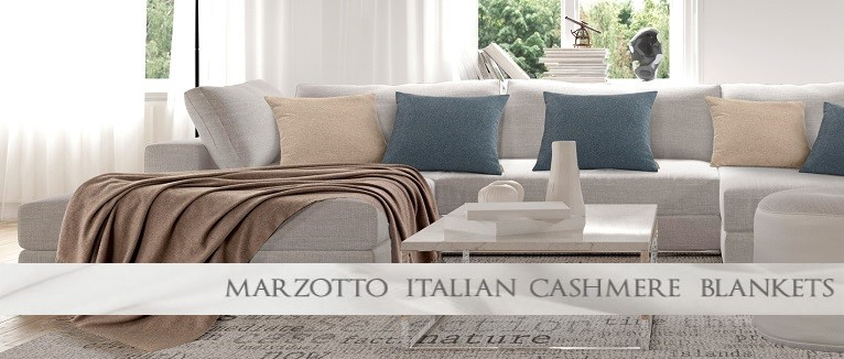 High End Cashmere Blankets and Throws