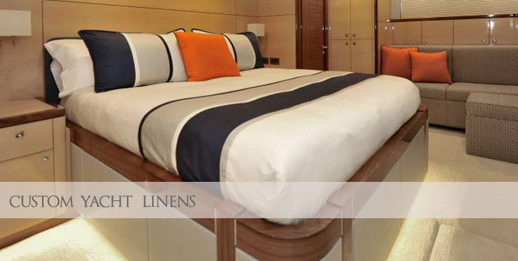 Custom Luxury Yacht Linens