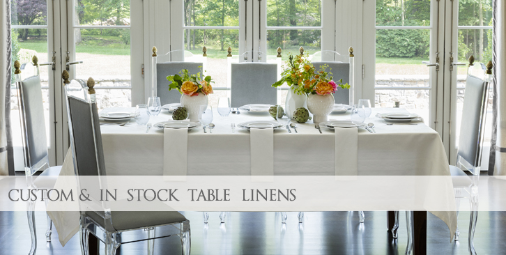 Fine Italian Table Linens, Tablecloth and Napkins