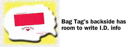 Bag Tag Back