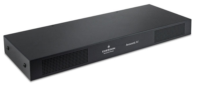 Avocent AV2216 2 User 16 Port VGA CAT5 VGA KVM Switch with IP Option - Serial, Virtual Media and Smart Card (CAC) Support