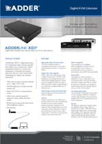 Adder XDIP Manual Thumbnail