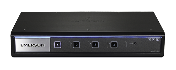 Avocent SC945H Secure Dual Monitor 4 Port USB KVM - 4K UHD Resolution, USB 3.0 Hub, & Audio Support