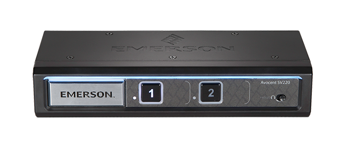 Avocent SV220 2 Port Dual-Link DVI KVM Switch - 4K UHD resolution & independent audio switching