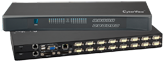 Austin Hughes CyberView RKP7 with Matrix VGA DB-15 KVM