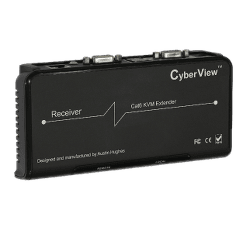 CatX KVM Receiver for Raloy RF117HD DB-15 VGA KVM