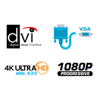 EXT-DVI-EDIDN Features Square - 4K Ultra HD, DVI, VGA, & 1080P Logo