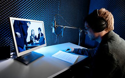 Gefen DVI Detective Plus Application Image - Sound Booth
