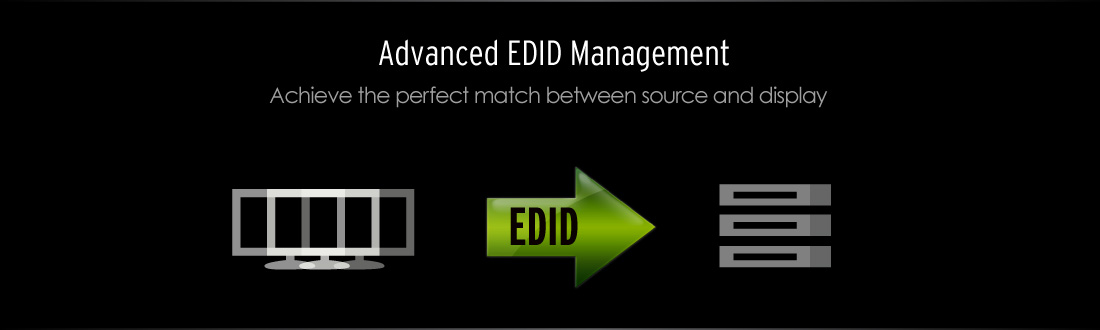 Gefen EXT-DVI-EDIDP Advanced EDID Management Banner