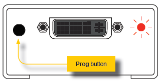 Gefen EXT-DVI-EDIDN Setup Porgram EDID Button Diagram