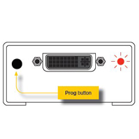 Gefen EXT-DVI-EDIDN Back - Program Button