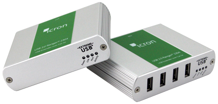 Icron USB1, USB2, USB3 Extenders - Extend USB Up to 6.2 Miles