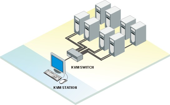 Rose Vista KVM Switch (KVL-4UA)