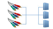 Component Audio Video Switches