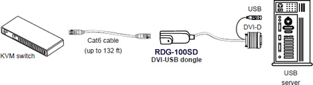 RDG-100SD Usage Diagram