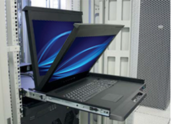 Raloy RF117HD DB-15 VGA KVM 2nd Generation Efficient Design
