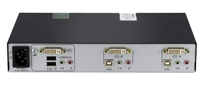 Avocent SwitchView SC620 Secure KVM Switch Back View