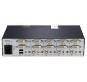 Avocent SwitchView SC740 Secure KVM Switch Back View