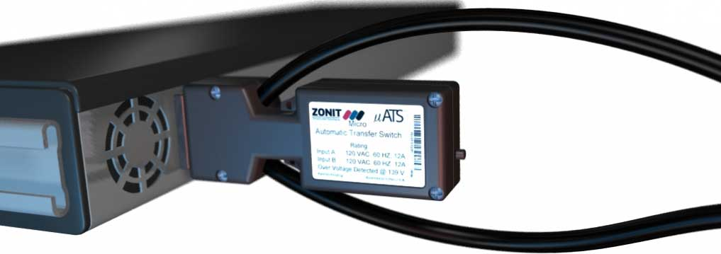 Zonit uATS MicroATS Dual-AC Automatic Transfer Switches