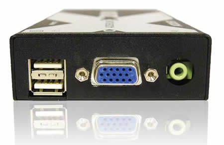 Adder X200AS 2-Port transparent USB 2.0 Hub