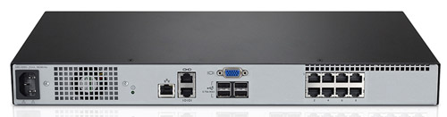 Avocent AV2108-001 KVM Appliance Back View