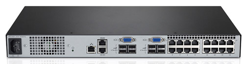 Avocent AV2216-001 KVM Appliance Back View