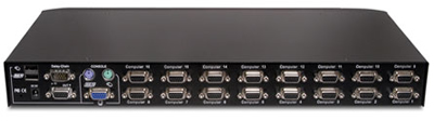 Avocent SwitchView 16SV1000BND1-001 KVM Switch Backside