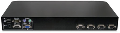 Avocent SwitchView 4SV1000 KVM Switch Backside