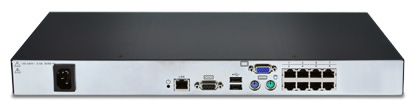 Avocent AV3008 Digital KVM Appliance Back View