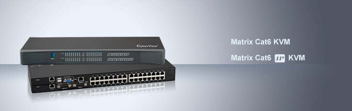 CyberView Cat6 KVM Series